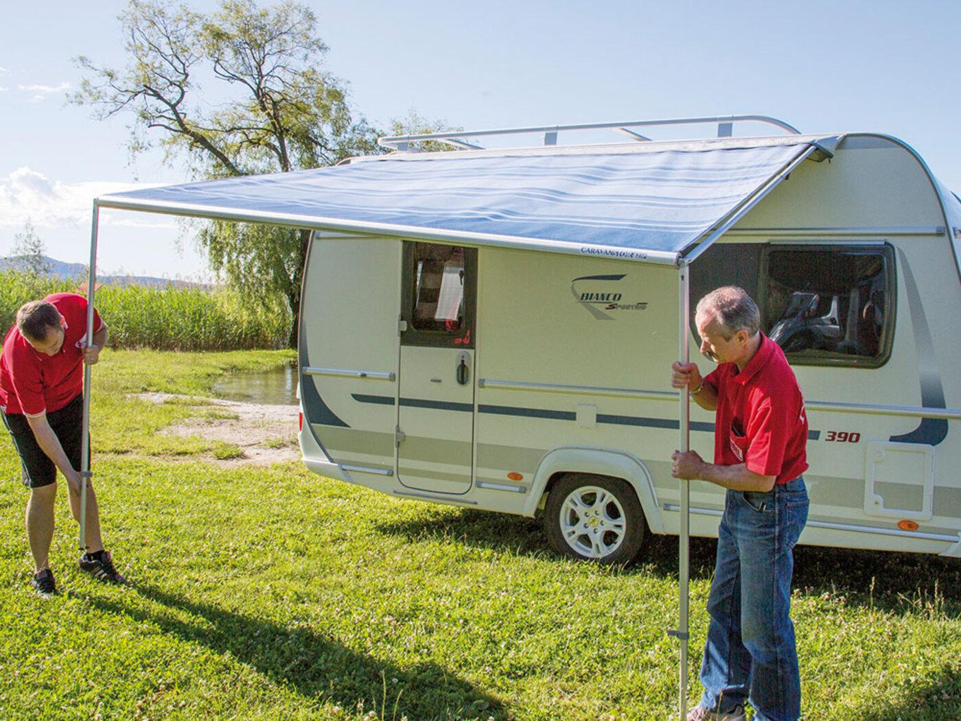 Fiamma Caravanstore Roll-out Awning - Homestead Caravans