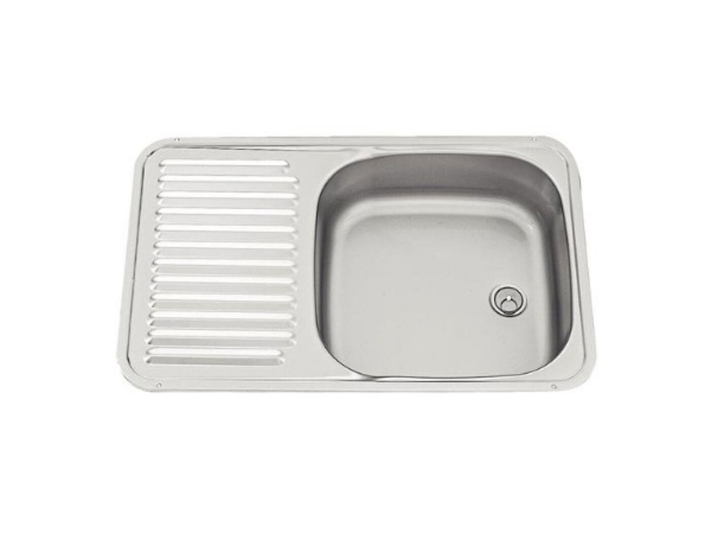 Accessory shop caravan motorhome fresh water waste kitchen sink units smev sink with drainer - Caravan kitchen sink ...
