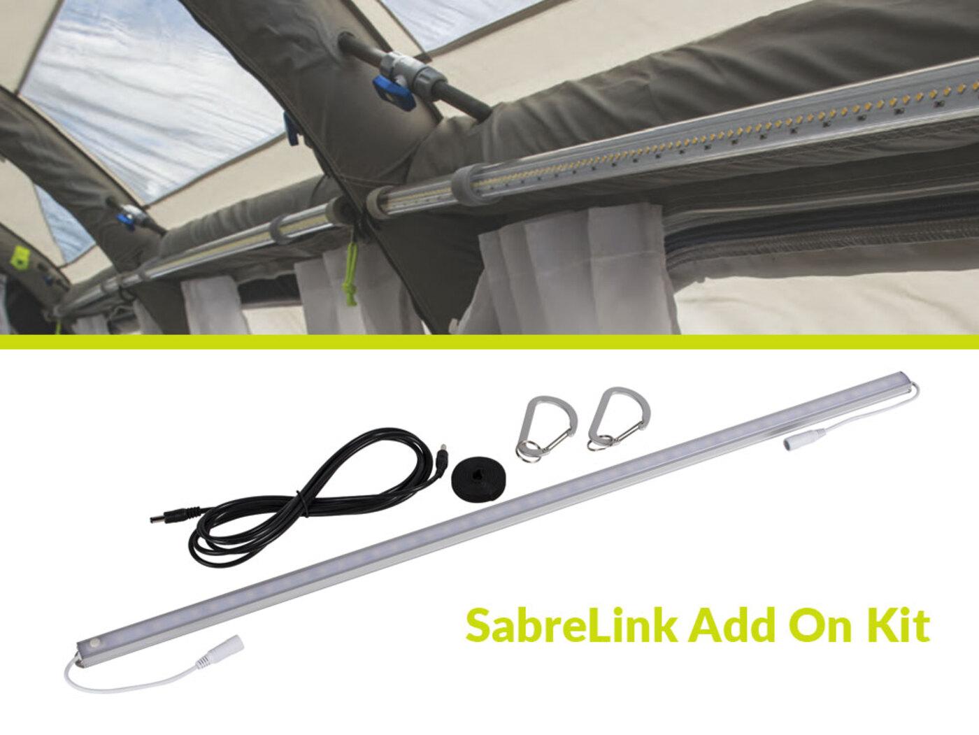 kampa sabre link 150 led awning light homestead caravans. Black Bedroom Furniture Sets. Home Design Ideas