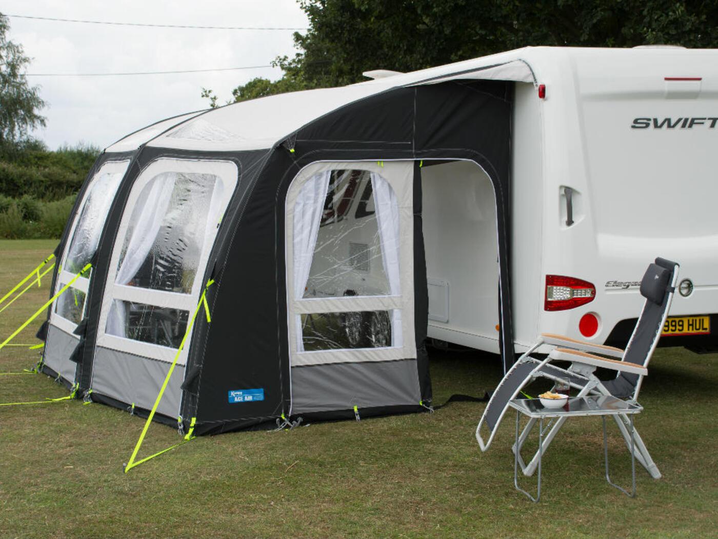 Kampa Ace Air 500 Awning 2017 Homestead Caravans