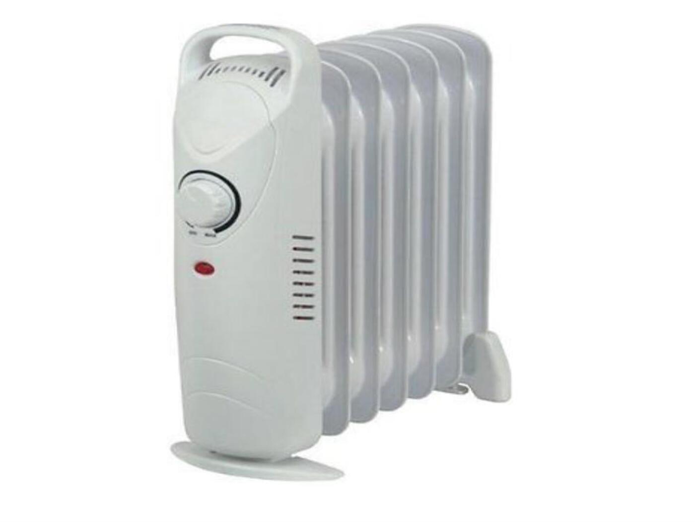 Kingavon Mini Oil Filled 7 Fin 600w Radiator Heater
