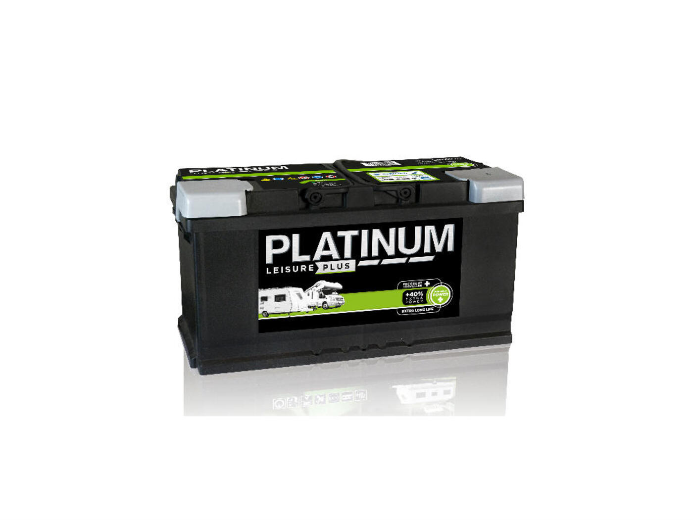 platinum 110 ah leisure plus battery homestead caravans. Black Bedroom Furniture Sets. Home Design Ideas