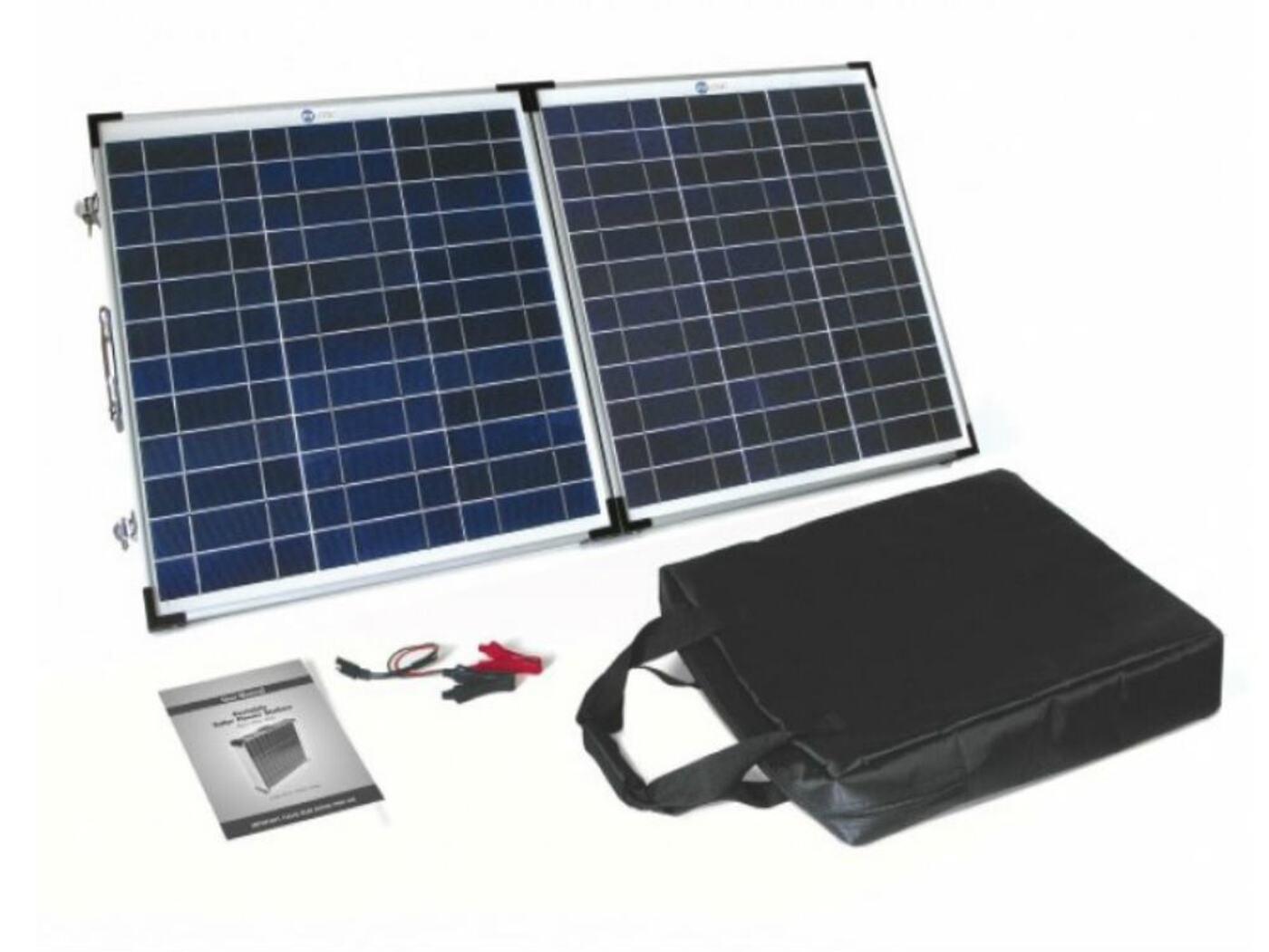 Pv Logic Foldup Solar Panel 60 Watt Homestead Caravans