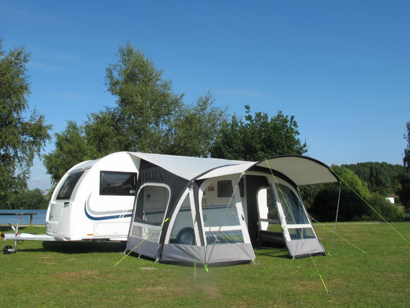 Kampa Fiesta Air Pro 420 Caravan Awning 2018 Homestead