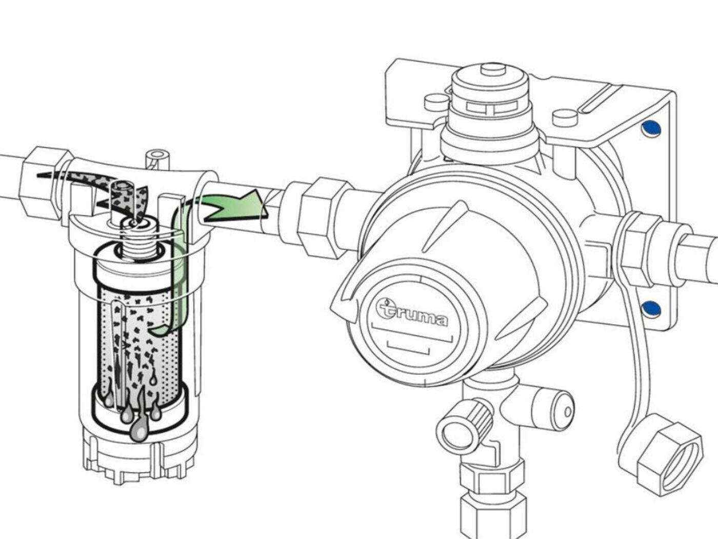 truma gas filter replacement cartridge