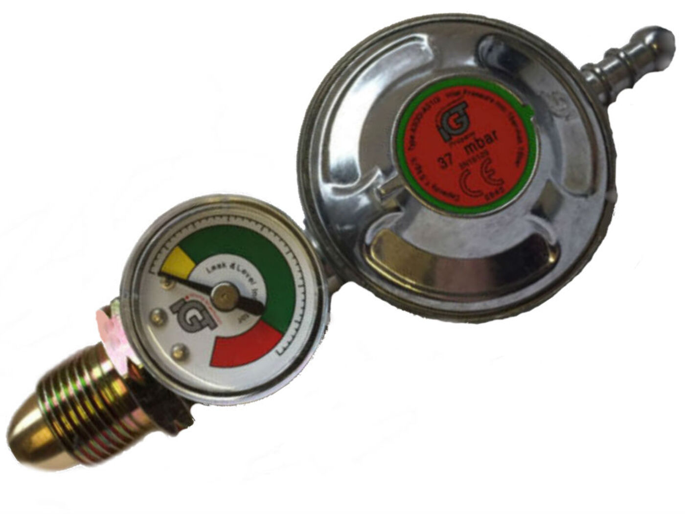 Propane Regulator with Level Gauge
