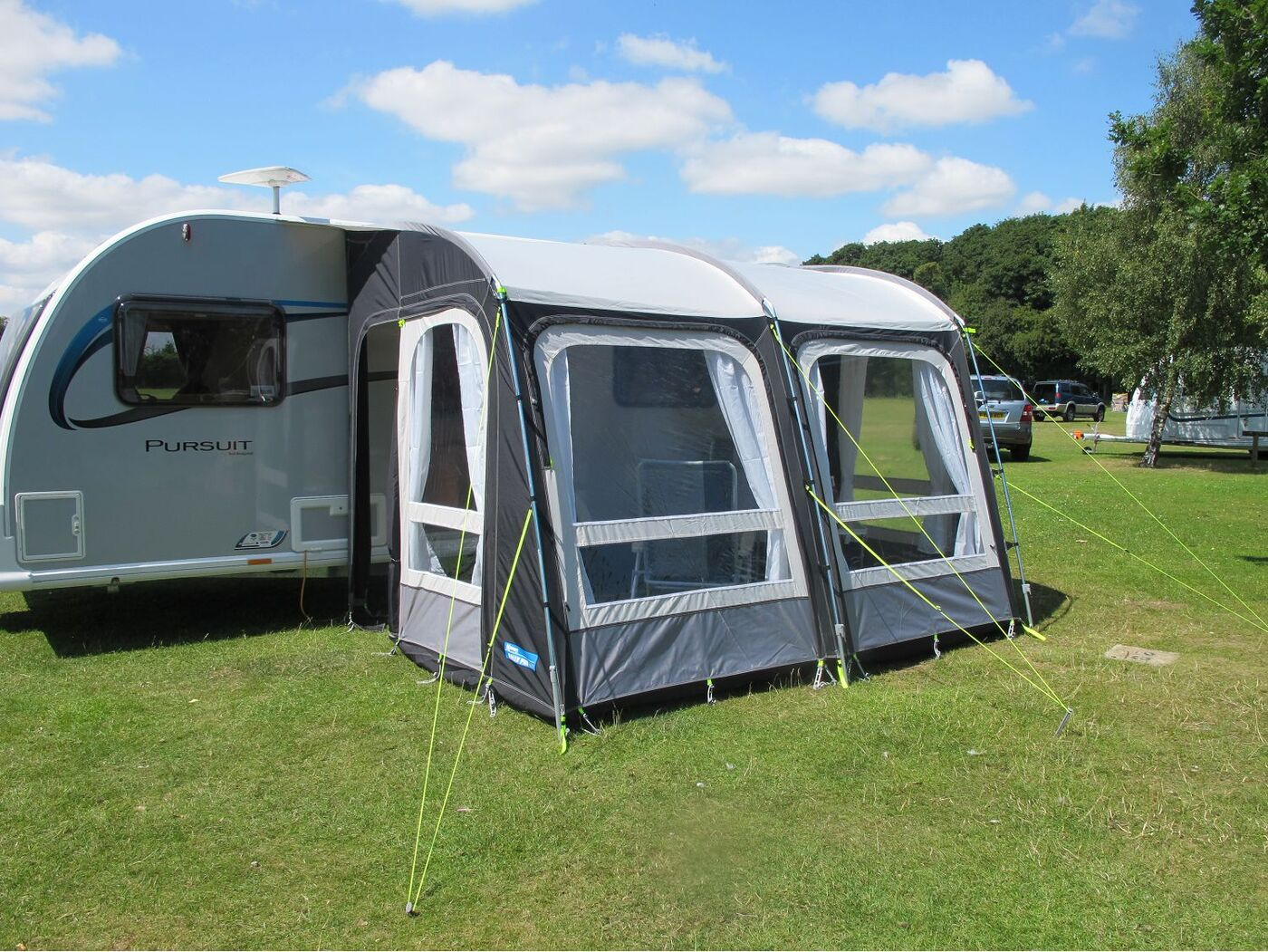 Kampa Rally Pro 330 Caravan Awning 2017 Homestead Caravans