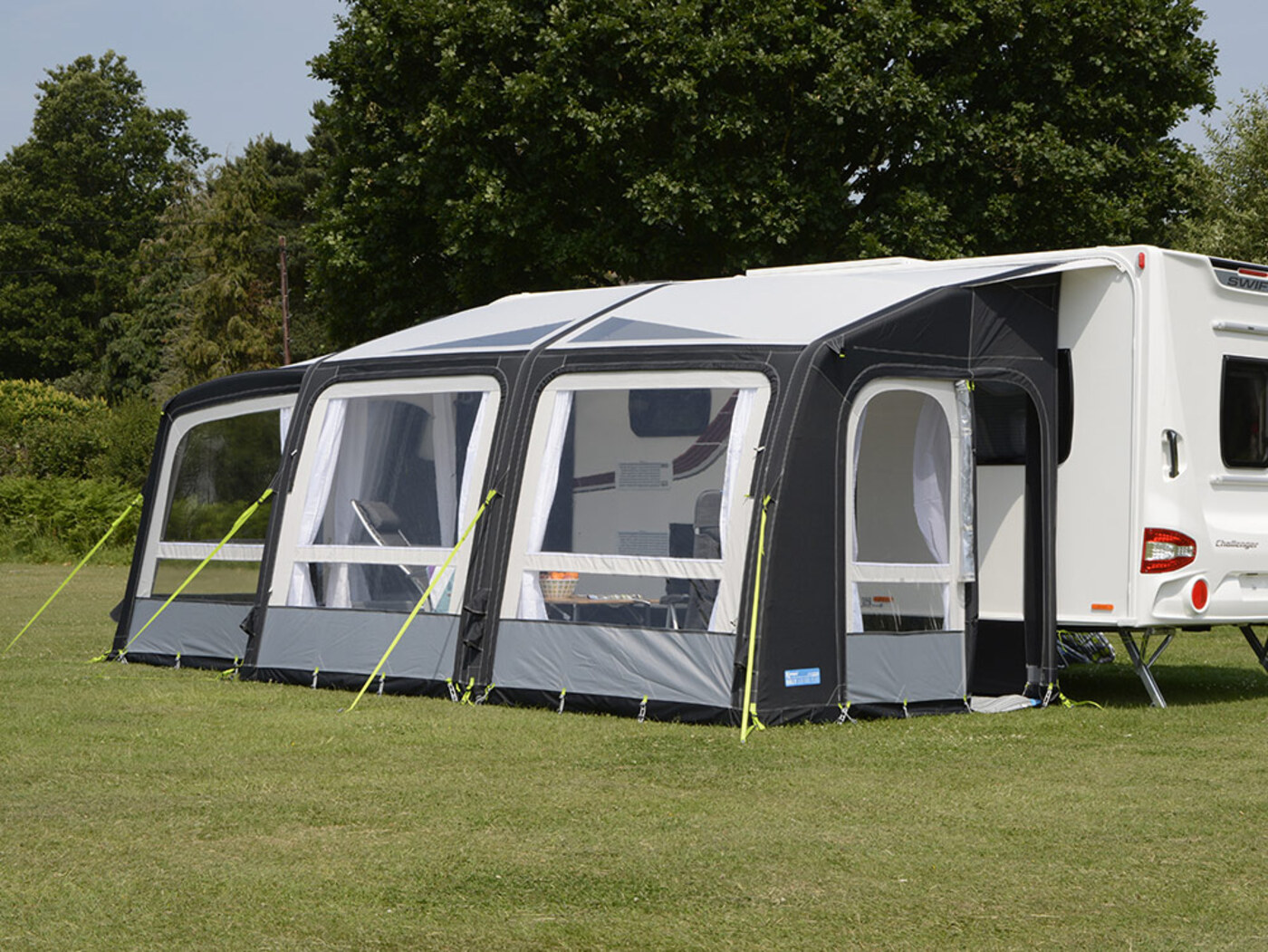 Kampa Rally Air Pro 390 Plus Left 2018 Homestead Caravans