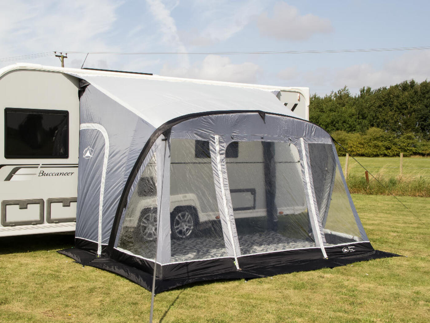 2018 Sunncamp Swift 390 AIR Plus Caravan Porch Awning