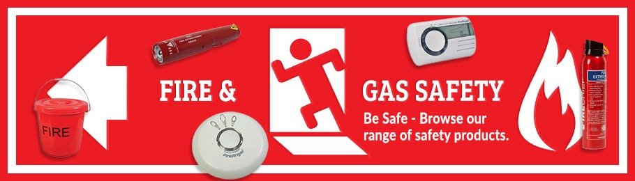 Check out our Fire & Gas Safety  products - Image of various Fire & Gas Safety products