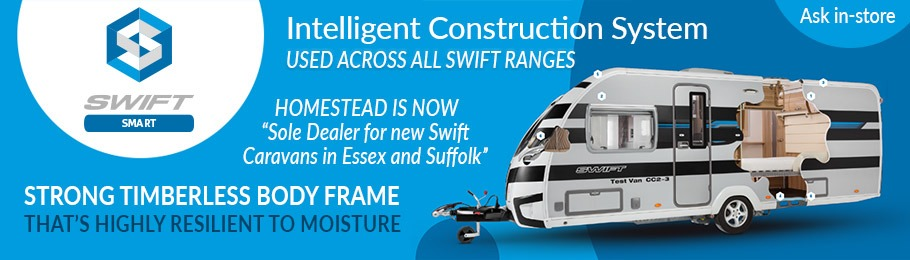 Swift SMART Intelligent Construction System across all Swift Caravan Ranges in 2018