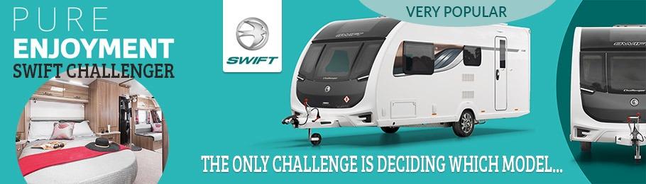 2018 Swift Challenger still the Swift Group's most popular caravan range