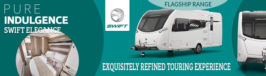 Choose 2018 Swift Elegance for a exquisitely refined touring experience