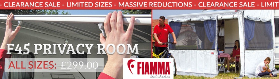 Clearance Sale Fiamma Privacy Room - limited stock