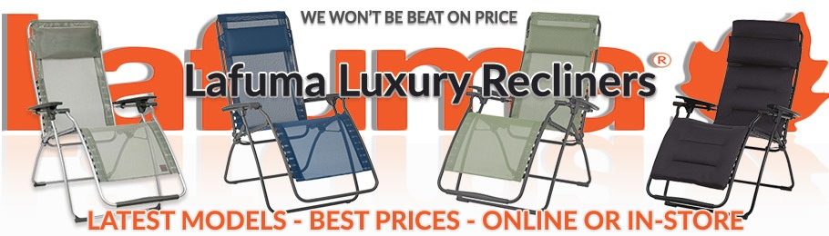 Lafuma luxury relaxers - the wide range, latest designs and lowest prices
