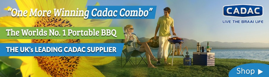 Full range of Cadac BQs in-store and online at the lowest prices