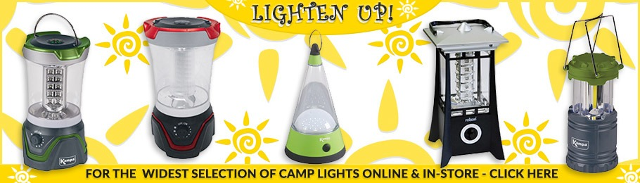 The widest selection of Camp Lights online & in-store - Image of 4 Hanging Lanterns