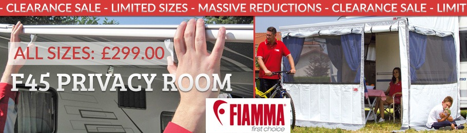 Fiamma Privacy Clearance Stock - Click for details