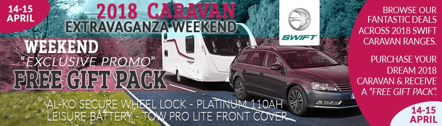 Come join us at the Homstead Caravans Caravan Extravaganza Weekend 14-15 April