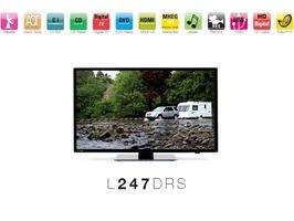"""Avtex L247DRS 24"""" LED HD TV/DVD/Satellite Combi"""