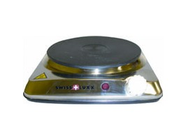 Swiss Luxx Stainless Steel Single Hotplate