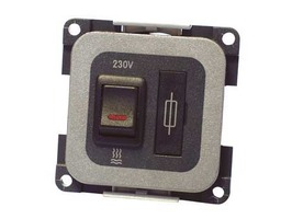 CBE 230v Fused Spur - Grey