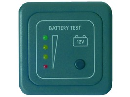 CBE Batttery Test Panel LED - Grey/Silver