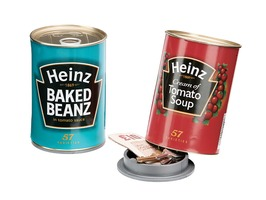 Sterling Heinz Baked Beanz Decoy Can Safe