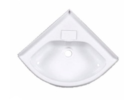 Caravan Basin Corner  Bowl Sink