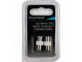 Maxview Back to Back Coaxial Connectors (2)