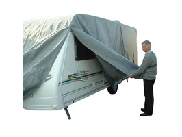 Maypole Breathable 4-Ply Grey Caravan Covers