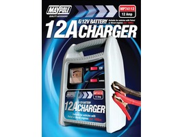 Maypole 12Amp 6/12V Battery Charger