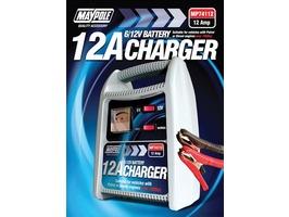 Maypole 12Amp 6/12V Battery Charger