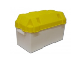 Plastic Battery Box Yellow