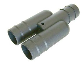 28mm Push Fit Waste Pipe Y Connector
