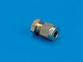 "1/4"" Blanking End Compression Fitting"