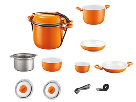 Brunner Mandarina 9+1 Aluminium Cooking Pan  Set