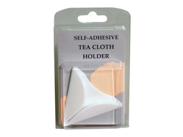 Self-Adhesive Tea Towel Holder - White