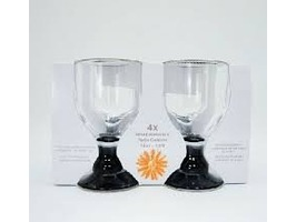 Flamefield Acrylic Bella Goblet  4 Pack