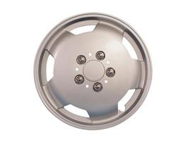 "Milenco Motorhome Wheel Trims 15"" Silver"
