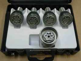 Milenco Locking Wheel Nuts - Caravan Set of 4