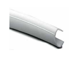 White Plastic Window Capping 10m Roll