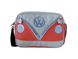 VW Campervan Bus Messenger Bag  Orange