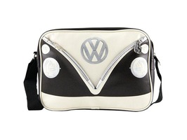 VW Campervan Bus Messenger Bag Brown