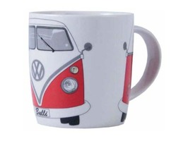 VW Camper Bone China Mug Red Gift Boxed