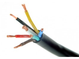 12N 7 Core Cable for Trailers & Caravans - Black