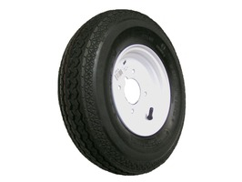 Maypole Trailer Wheel and Tyre 400 x 8""