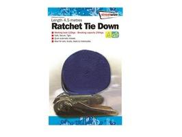 Streetwize 4.5 Metre Ratchet Tie Down Strap