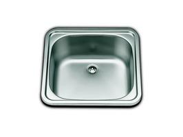 Smev Square Sink 380 x 380mm