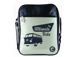 VW Campervan Portrait Messenger Shoulder Bag Ultimate Ride